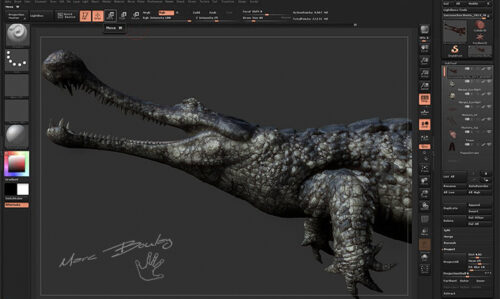 Sarcosuchus-Workflow (c) MarcBoulay
