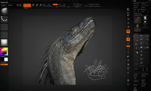 Utahraptor-workflow2 (c) MarcBoulay